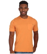 Royal Robbins Organic Jersey S S Crew Mandarin Men's Short Sleeve Pullover Orange