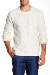 Barque Cable Knit Sweater Beige