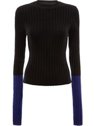 J.W.Anderson Jw Anderson Long Sleeve Ribbed Top Green