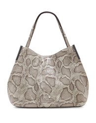 Vince Camuto Tina Leather Hobo Beige