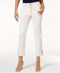 Charter Club Corded Capri Pants Only At Macy's Sand Combo