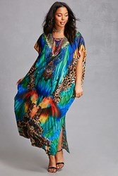 Forever 21 Plus Size Maxi Dress Green