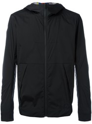 Fendi Zip Up Hooded Jacket Black