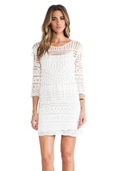 Twelfth St. By Cynthia Vincent Crochet Dress White