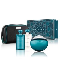 Bulgari Bvlgari Men's Aqva Pour Homme 4 Pc. Gift Set No Color