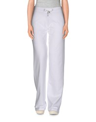 Roccobarocco Trousers Casual Trousers Women White