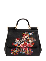 Dolce And Gabbana Medium Sicily Family Leather Bag