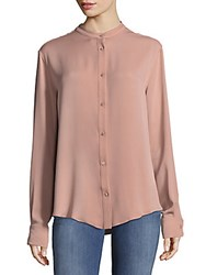 Tom Ford Camicia Silk Top Nude
