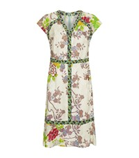 Etro Flower Cap Sleeve Dress Female Multi