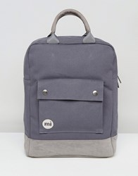 Mi Pac Tote Backpack In Charcoal Grey