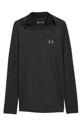 Under Armour 'S Threadbone Fitted Seamless Hoodie Black