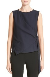 Armani Collezioni Women's Side Tie Gilet Midnight