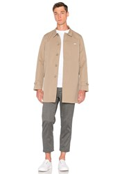 Obey Sneaky Trench Coat Tan