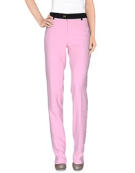 Class Roberto Cavalli Trousers Casual Trousers Women Pink