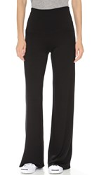 Riller And Fount Truman Wide Leg Pants Black French Terry