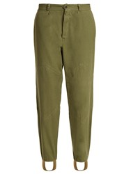 Myar 1960S Bulgarian Army Cotton Field Trousers Khaki