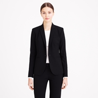J.Crew Tall 1035 Single Button Jacket In Italian Stretch Wool