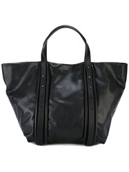 Dkny Oversized Tote Black