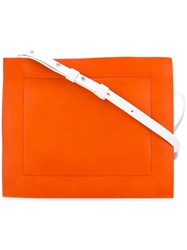 Corto Moltedo 'Rose Pochette' Shoulder Bag Yellow Orange