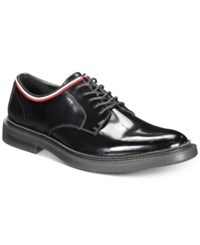 Inc International Concepts I.N.C. Viper Taping Lace Up Shoes Created For Macy's Shoes Black