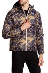 K Way Alois Padded Graphic Reversible Jacket Multi