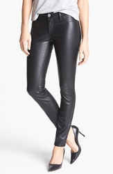 Blanknyc Faux Leather Skinny Pants Blacked Out