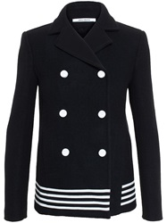 Paco Rabanne Wool Peacoat Black