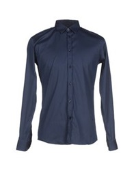 Billtornade Shirts Dark Blue