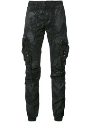 Prps Multiple Pockets Trousers Black