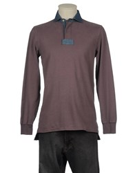 Alain Topwear Polo Shirts Men Mauve