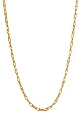14K Yellow Gold 16' Carded Rope Chain