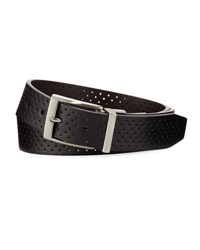 Nike Reversible Perforated Belt Black Brown