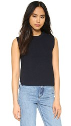 Helmut Lang Shell Top Navy