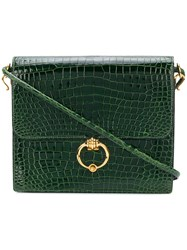 Hermes Vintage 60'S Flat Shoulder Bag Green