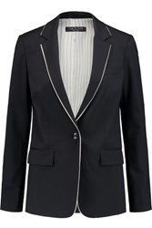 Rag And Bone Belmar Wool Blend Blazer Midnight Blue
