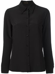 Saint Laurent Classic Long Sleeve Shirt Black