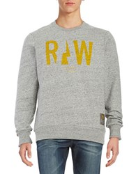 Guess Crewneck Logo Sweatshirt Grey