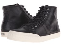 Frye Greene Tall Lace Black Antique Pull Up Men's Lace Up Casual Shoes