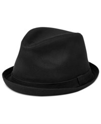 Levi's Men's Waxed Canvas Fedora Black