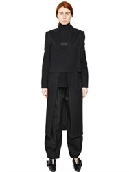 J.W.Anderson Paneled Wool Coat