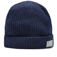Visvim Wool Knit Beanie Blue
