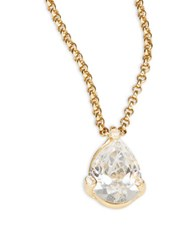 Kate Spade Tear Drop Pendant Necklace Gold