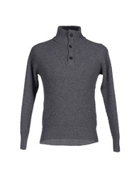 Grp Knitwear Turtlenecks Men Dark Blue