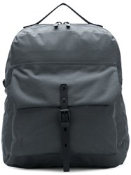 Ally Capellino Buckle Pocket Backpack Grey