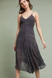 Anthropologie Harbor Jumpsuit Dark Grey