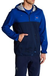 Reebok Hall Of Fame Half Zip Jacket Blue
