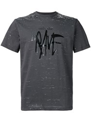 Diesel Only The Brave T Shirt Grey
