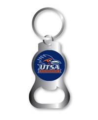 Aminco University Of Texas San Antonio Roadrunners Bottle Opener Keychain