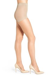 Nordstrom Plus Size Women's 'Ultra Sheer' Control Top Pantyhose Light Nude