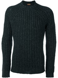 Tod's Chunky Knit Sweater Grey